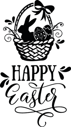 Happy Easter | Happy Easter and Bunny Quotes & Signs for Cricut and Silhouette