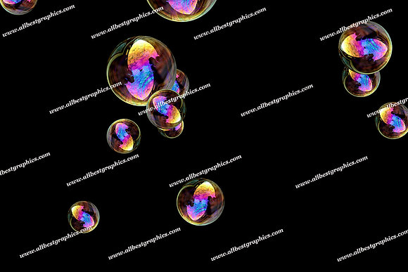 Awesome Baby Bubble Overlays | Unbelievable Photo Overlays on Black