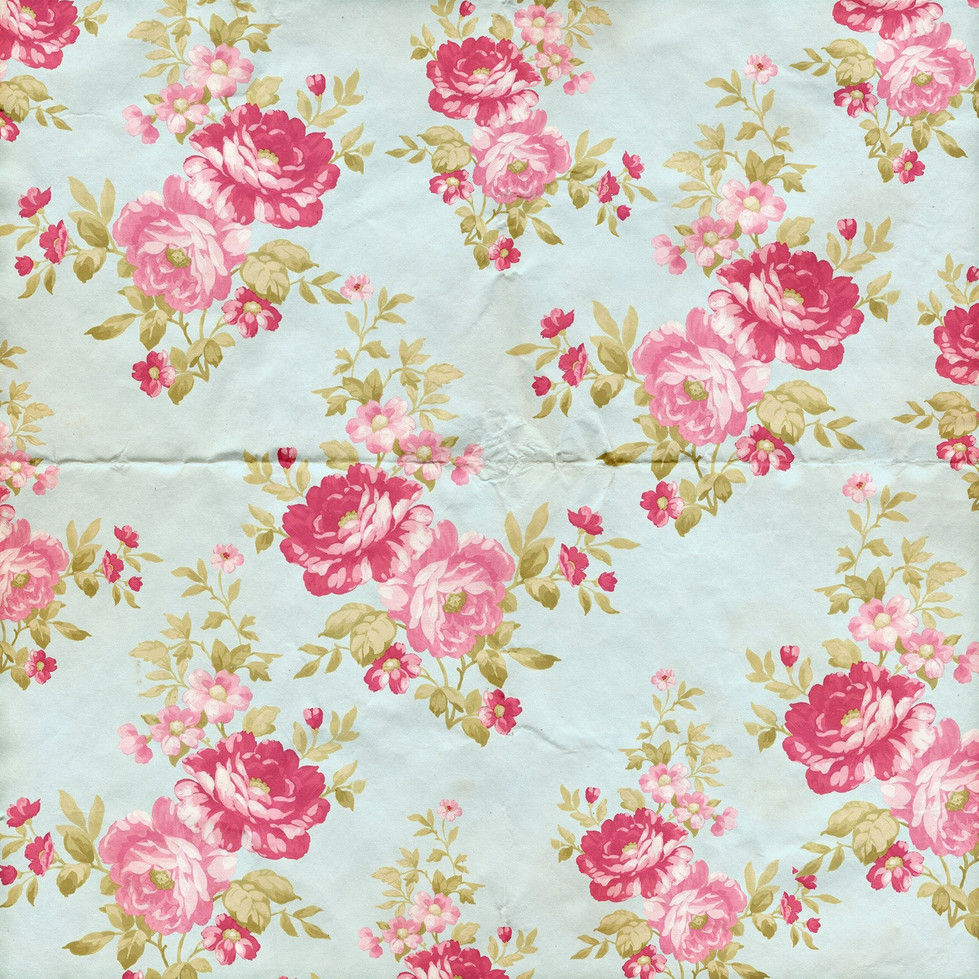 Luxurious roses digital paper with seamless design | Party Digital Papers