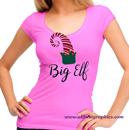 Big Elf | Funny Quotes & Signs in Eps Svg Png Dxf