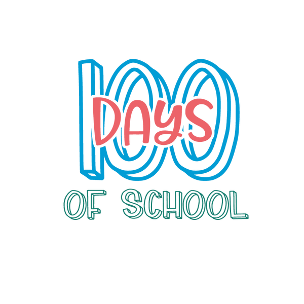 100 days of school | Free Printable Sarcastic Quotes T- Shirt Design in Png