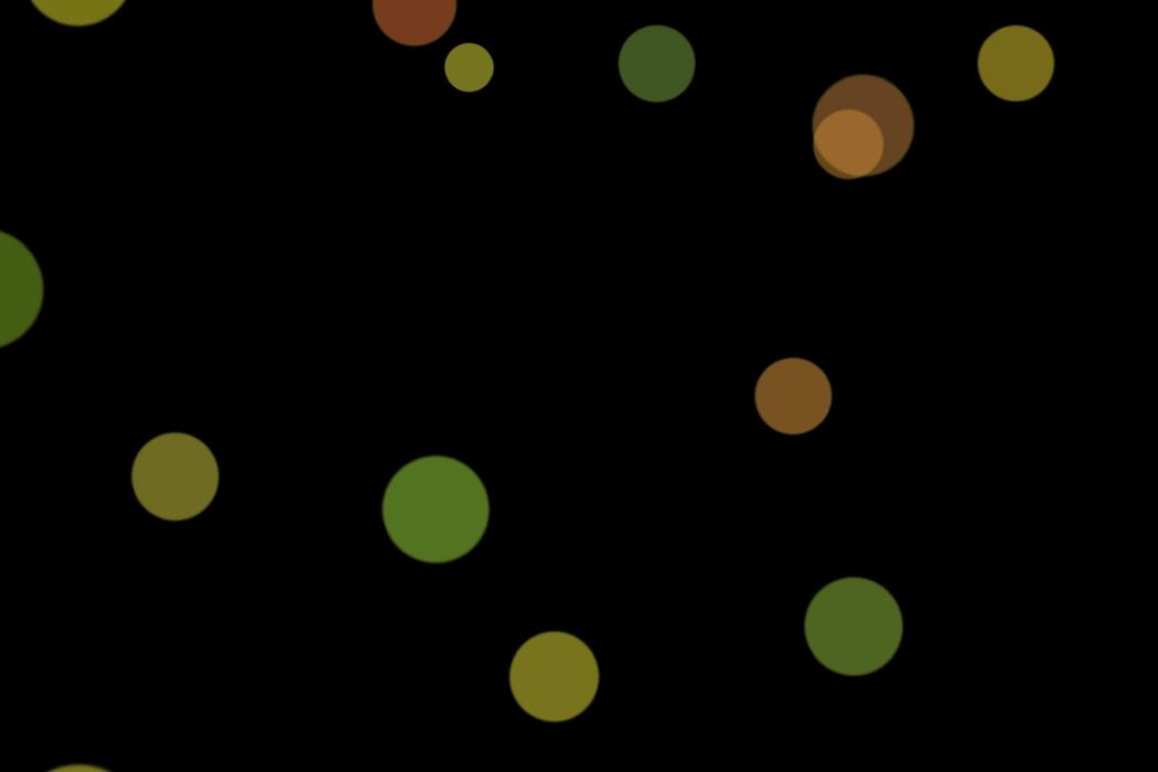 Gorgeous Festival Light Bokeh Overlay on black background | Free Download