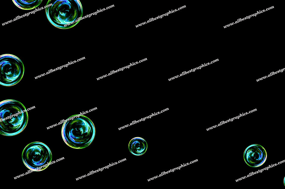 Natural Bathroom Bubble Overlays | Unbelievable Photoshop Overlay on Black