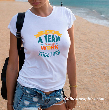 We Are Not a Team   Sassy Sport Quotes & Signs for Silhouette Cameo and Cricut