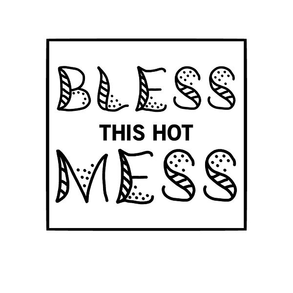 Bless this hot mess | Free download Iron on Transfer Sassy Quotes T- Shirt Design in Png