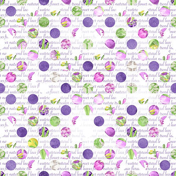 Gorgeous watercolor digital paper with peonies   Printable Digital Paper