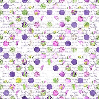 Gorgeous watercolor digital paper with peonies | Printable Digital Paper