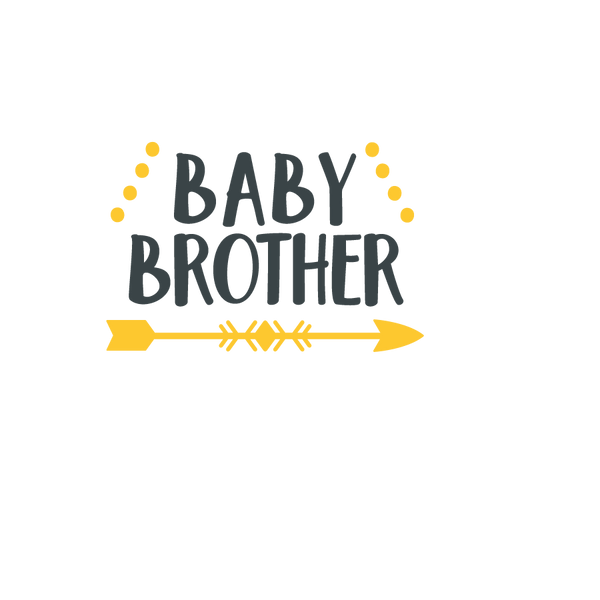 Baby brother arrow | Free Iron on Transfer Slay & Silly Quotes T- Shirt Design in Png