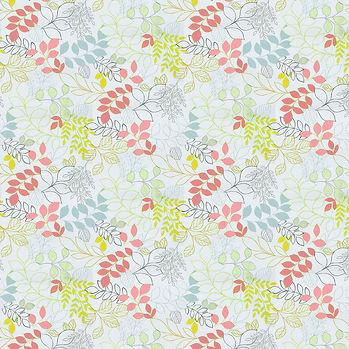 Spring floral digital paper with pastel flowers   Scrapbook Paper