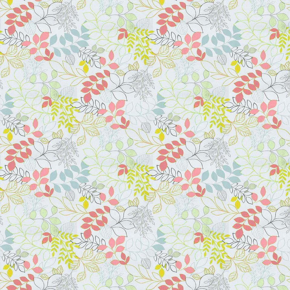 Spring floral digital paper with pastel flowers | Scrapbook Paper