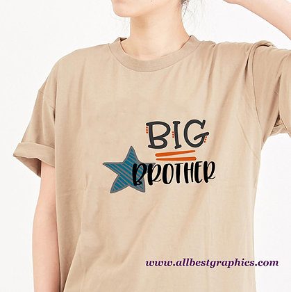 Big Brother Dots |  Slay and Silly Quotes & Signs in Eps Svg Png Dxf