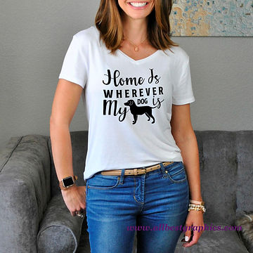 Home Is Wherever My Dog Is | Quotes & Signs about Pets for Cricut and Silhouette