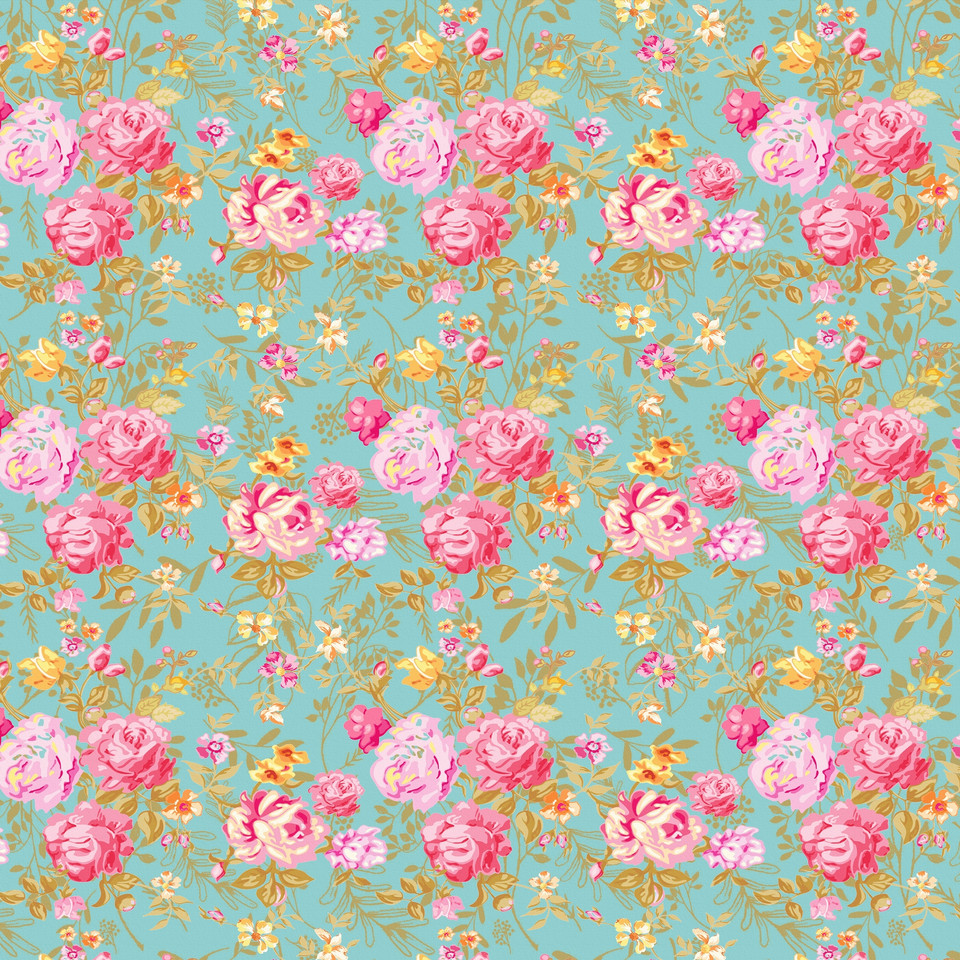 Gorgeous peonies digital paper with seamless design | Seamless Digital Papers