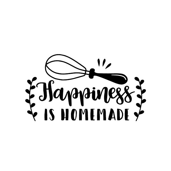 Happiness is homemade  Png | Free Printable Slay & Silly Quotes T- Shirt Design in Png