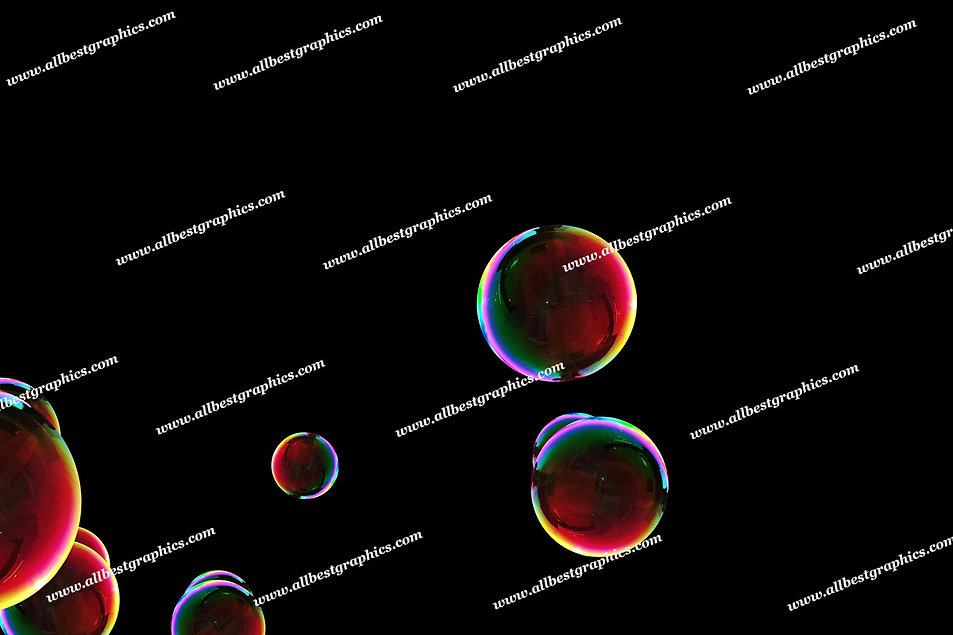 Natural Bright & Airy Bubble Overlays   Incredible Photoshop Overlays on Black