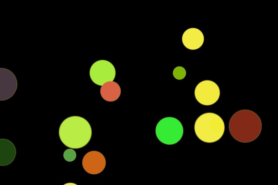Colorful Festival Light Bokeh Background on black background | Freebies