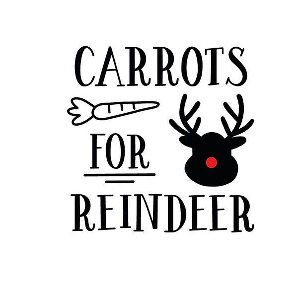 Carrots for reindeer | Free Printable Sarcastic Quotes T- Shirt Design in Png