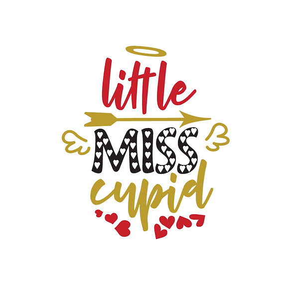 Little miss cupid Png | Free Printable Sarcastic Quotes T- Shirt Design in Png