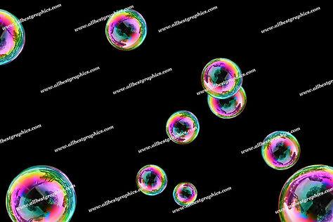 Dreamy Air Bubble Overlays | Unbelievable Photo Overlay on Black