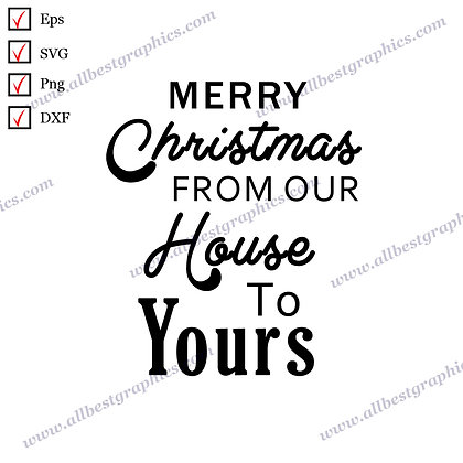 Merry Christmas | Cool Quotes Instant Download Christmas Decor Png Dxf SVG Eps