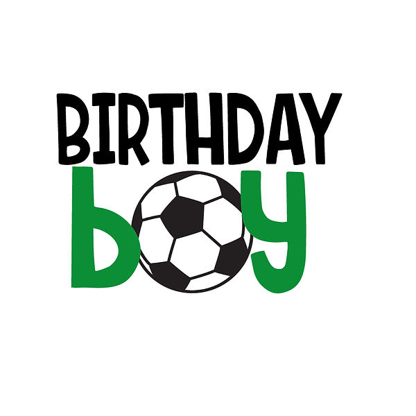 Birthday boy soccer | Free Iron on Transfer Funny Quotes T- Shirt Design in Png