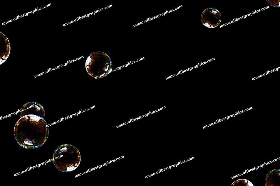 Gorgeous Realistic Bubble Overlays | Unbelievable Photoshop Overlay on Black