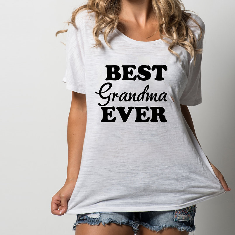 Best grandma ever | Cool T-Shirt QuotesCut files inDxf Svg Eps