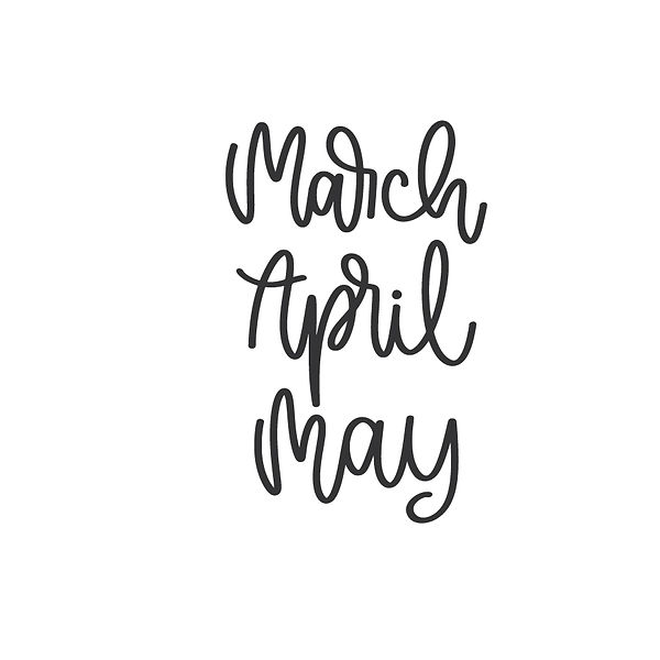 March april may  Png | Free download Iron on Transfer Cool Quotes T- Shirt Design in Png