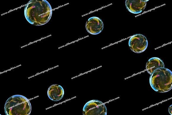 Beautiful Bathroom Bubble Overlays | Unbelievable Photoshop Overlays on Black