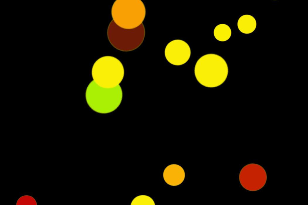 Realistic Holiday Light Bokeh Background on black background | Freebies