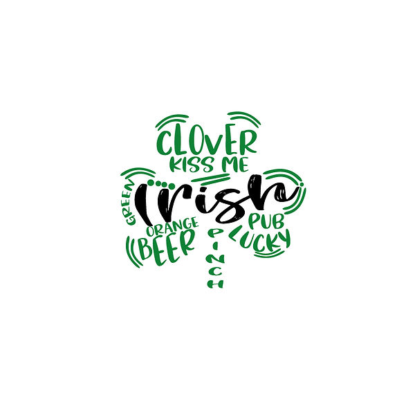 Clover subway design | Free Iron on Transfer Funny Quotes T- Shirt Design in Png