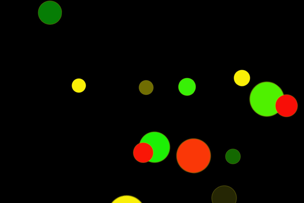 Romantic Night Light Bokeh Texture on black background | Freebies