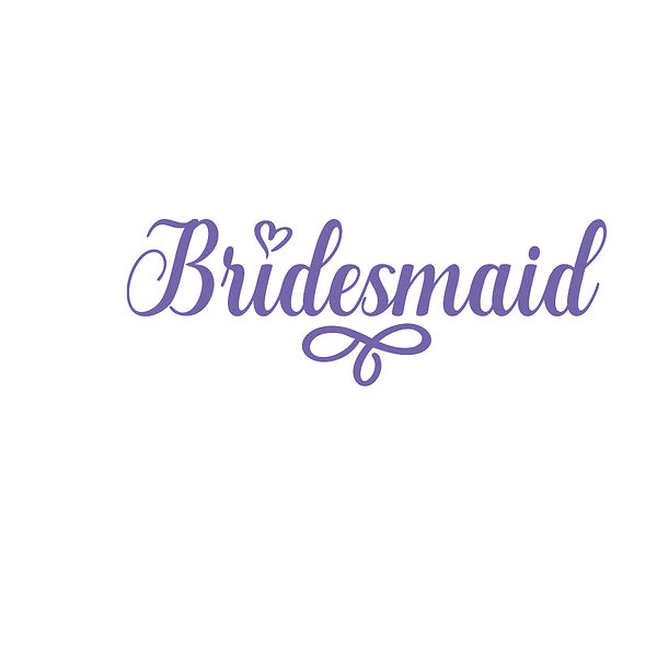 Bridesmaid  | Free download Printable Cool Quotes T- Shirt Design in Png