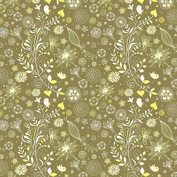 Retro floral digital paper with peonies   Printable Digital Paper