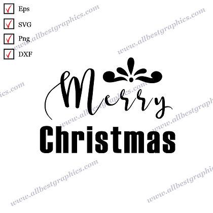 Merry Christmas | Best Cool Sayings Vector Clip Art Christmas Decor Cut files