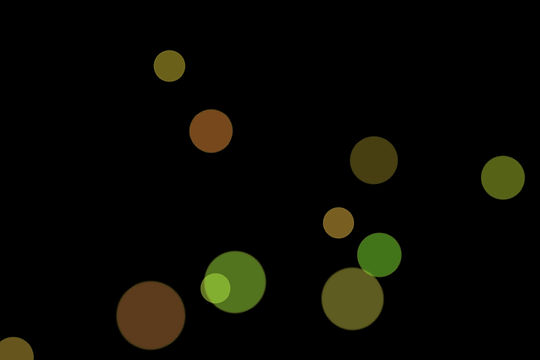 Gorgeous Festival Light Bokeh Texture on black background | Free Download
