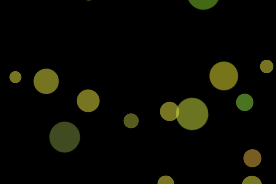 Realistic Holiday Light Bokeh Clip Art on black background | Freebies