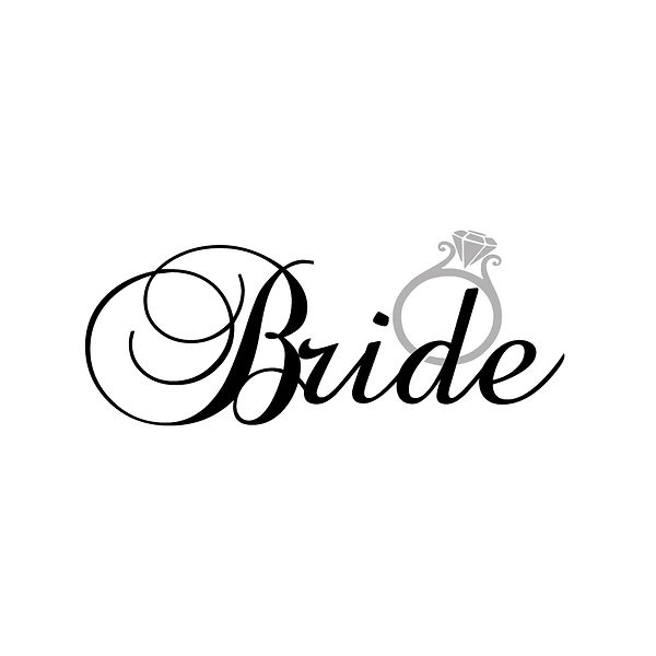Bride | Free Printable Slay & Silly Quotes T- Shirt Design in Png