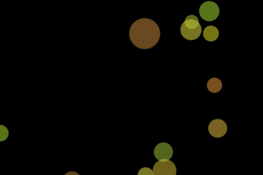 Colorful Christmas Light Bokeh Background on black background | Photo Overlays