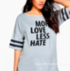 More love less hate | Sassy T-Shirt QuotesCut files inEps Svg Dxf