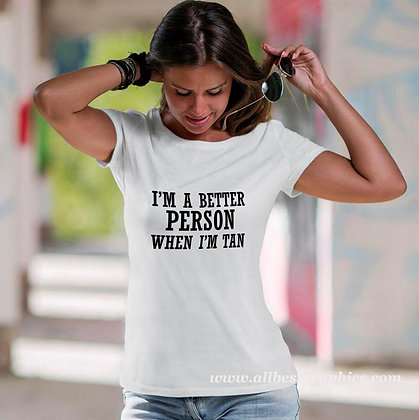 I'm a better person | Brainy T-Shirt QuotesCut files inEps Svg Dxf