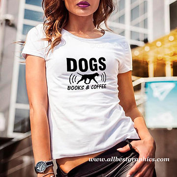 Dogs Books & Coffee | Best Quotes & Signs about PetsCut files inDxf Eps Svg