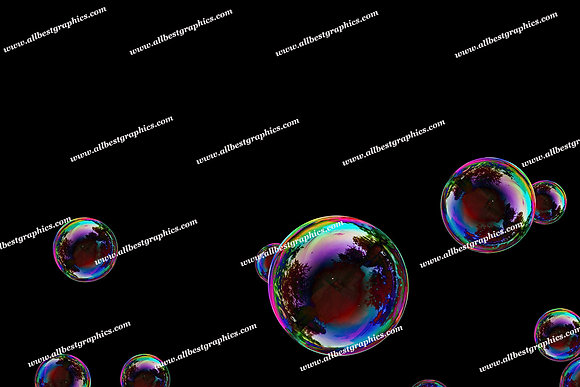Gorgeous Baby Bubble Overlays | Unbelievable Photo Overlay on Black