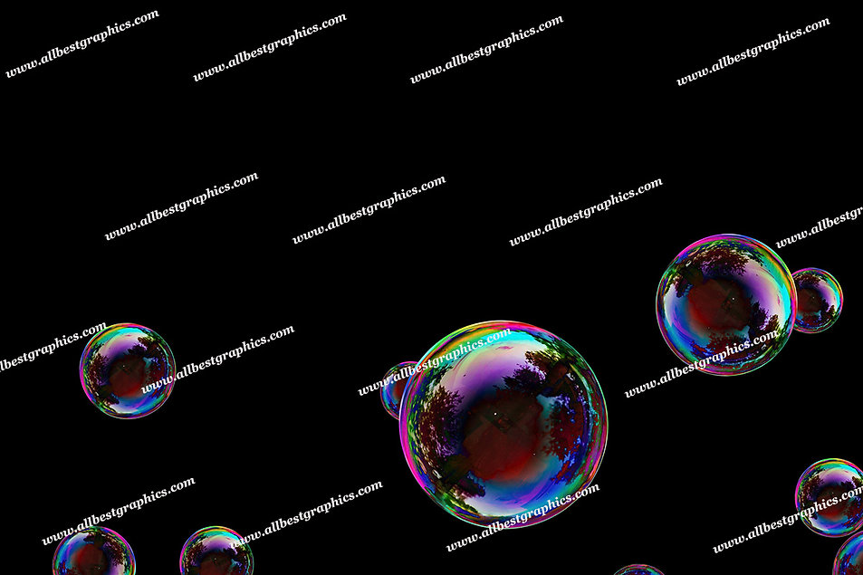 Gorgeous Baby Bubble Overlays   Unbelievable Photo Overlay on Black