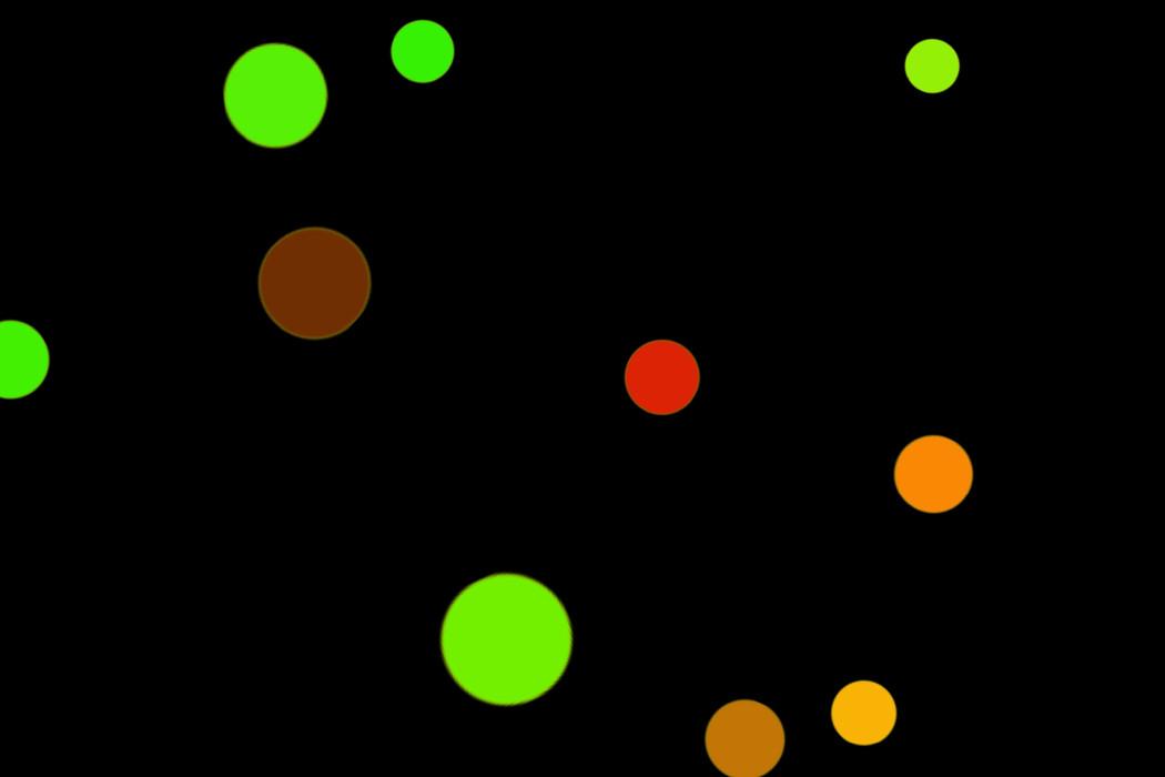 Beautiful Night Light Bokeh Clip Art on black background   Freebies