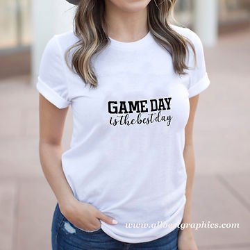 Game Day is The Best Day | Sassy Sport Quotes & Signs for Cricut and Silhouette