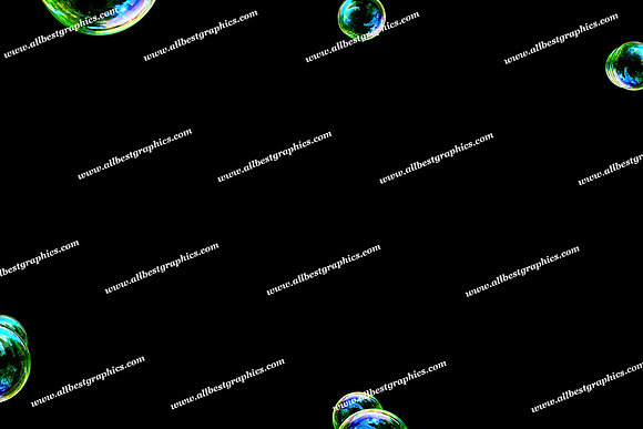 Spring Soap Bubble Overlays   Incredible Photoshop Overlay on Black