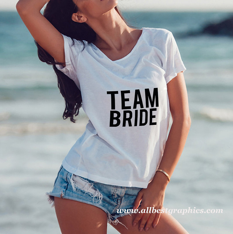 Team bride_2   Sarcastic T-shirt Quotes in Eps Svg Png Dxf