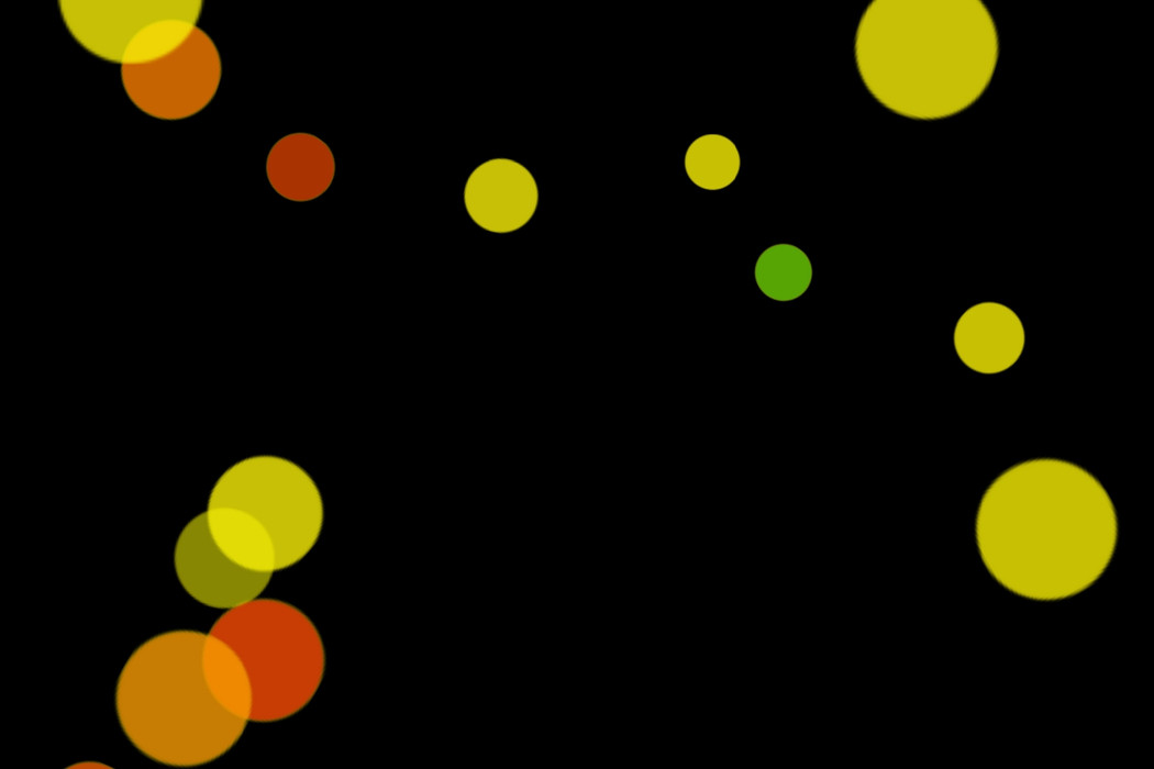 Romantic Night Light Bokeh Clipart on black background | Freebies