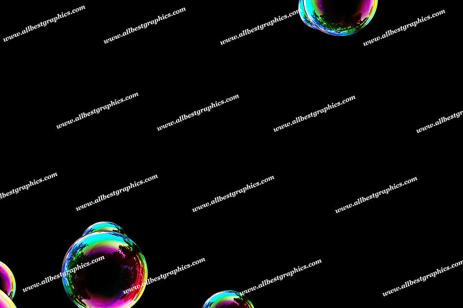 Dreamy Air Bubble Overlays | Incredible Photo Overlays on Black